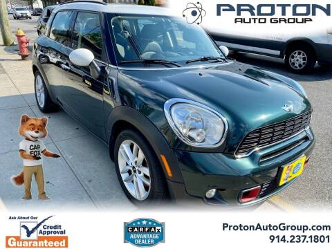 2012 MINI Cooper Countryman for sale at Proton Auto Group in Yonkers NY