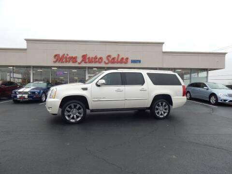 2013 Cadillac Escalade ESV for sale at Mira Auto Sales in Dayton OH