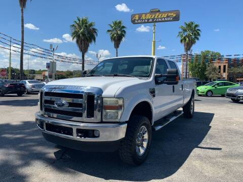 2008 Ford F-350 Super Duty for sale at A MOTORS SALES AND FINANCE in San Antonio TX
