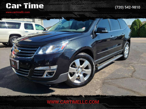 2014 Chevrolet Traverse for sale at Car Time in Denver CO