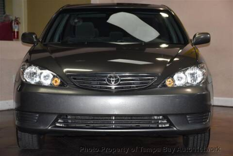 2005 Toyota Camry for sale at Tampa Bay AutoNetwork in Tampa FL