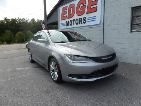2015 Chrysler 200 for sale at Edge Motors in Mooresville NC