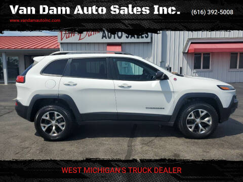 2017 Jeep Cherokee for sale at Van Dam Auto Sales Inc. in Holland MI