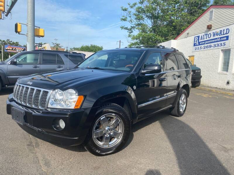 2007 Jeep Grand Cherokee for sale at PA Auto World in Levittown PA