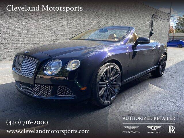 2014 Bentley Continental for sale at Drive Options in North Olmsted OH