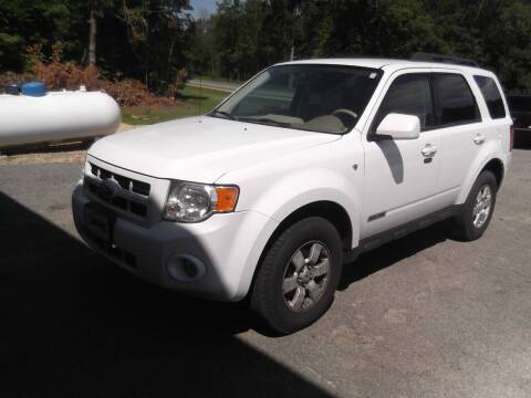 2008 Ford Escape for sale at Clucker's Auto in Westby WI