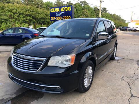 2014 Chrysler Town and Country for sale at Oceana Motors in Virginia Beach VA
