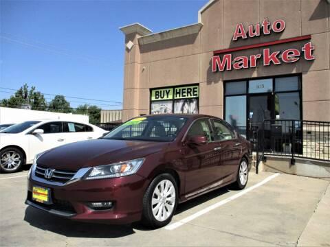 2014 Honda Accord for sale at Auto Market in Oklahoma City OK