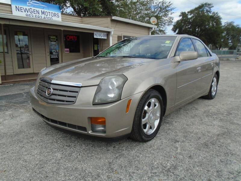 2004 Cadillac CTS for sale at New Gen Motors in Lakeland FL