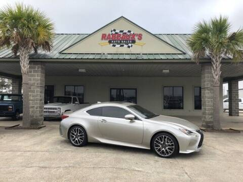 2016 Lexus RC 200t for sale at Rabeaux's Auto Sales in Lafayette LA