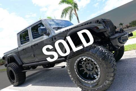 2020 Jeep Gladiator for sale at MOTORCARS in West Palm Beach FL