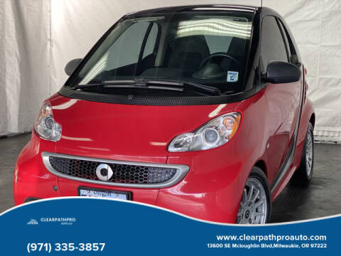 2014 Smart fortwo for sale at CLEARPATHPRO AUTO in Milwaukie OR