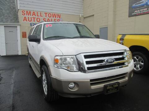 2014 Ford Expedition EL for sale at Small Town Auto Sales in Hazleton PA