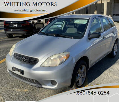 2006 Toyota Matrix for sale at Whiting Motors in Plainville CT