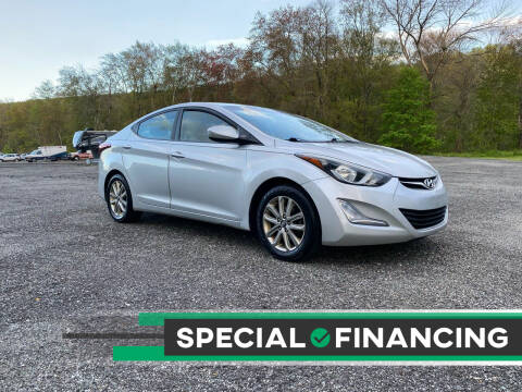 2014 Hyundai Elantra for sale at QUALITY AUTOS in Newfoundland NJ
