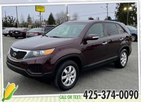 2013 Kia Sorento for sale at Corn Motors in Everett WA