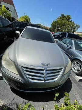 2011 Hyundai Genesis for sale at LAND & SEA BROKERS INC in Pompano Beach FL