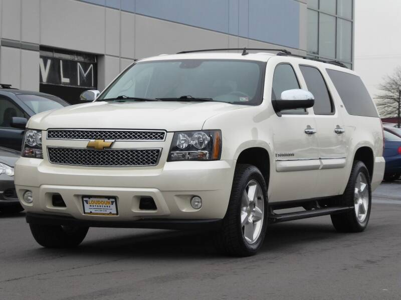2008 Chevrolet Suburban for sale at Loudoun Used Cars - LOUDOUN MOTOR CARS in Chantilly VA
