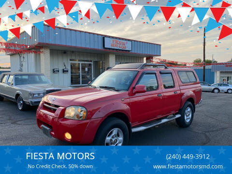 2001 Nissan Frontier for sale at FIESTA MOTORS in Hagerstown MD