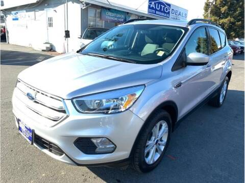 2018 Ford Escape for sale at AutoDeals in Hayward CA