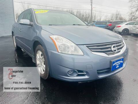 2010 Nissan Altima for sale at Transportation Center Of Western New York in Niagara Falls NY