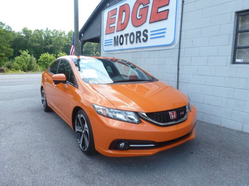 2015 Honda Civic for sale at Edge Motors in Mooresville NC