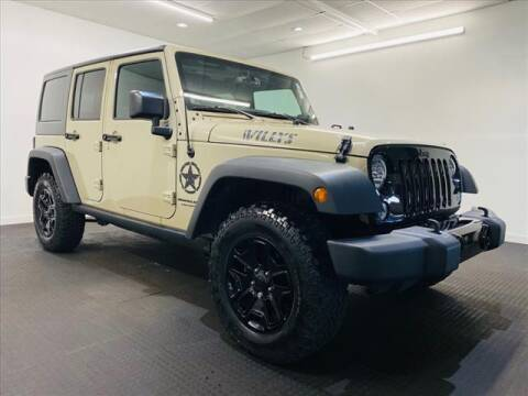 2018 Jeep Wrangler JK Unlimited for sale at Champagne Motor Car Company in Willimantic CT