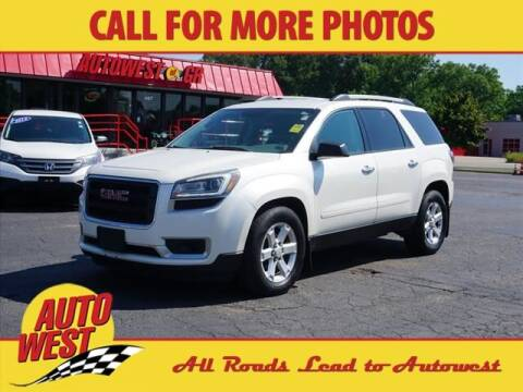 2013 GMC Acadia for sale at Autowest of GR in Grand Rapids MI