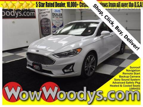 2019 Ford Fusion for sale at WOODY'S AUTOMOTIVE GROUP in Chillicothe MO