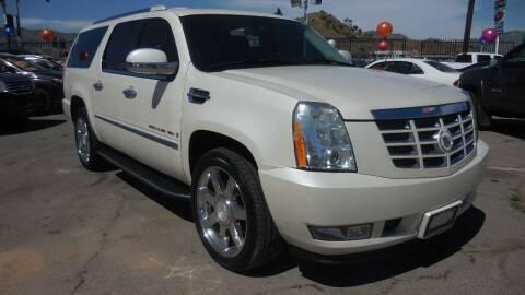 2008 Cadillac Escalade ESV for sale at Luxor Motors Inc in Pacoima CA