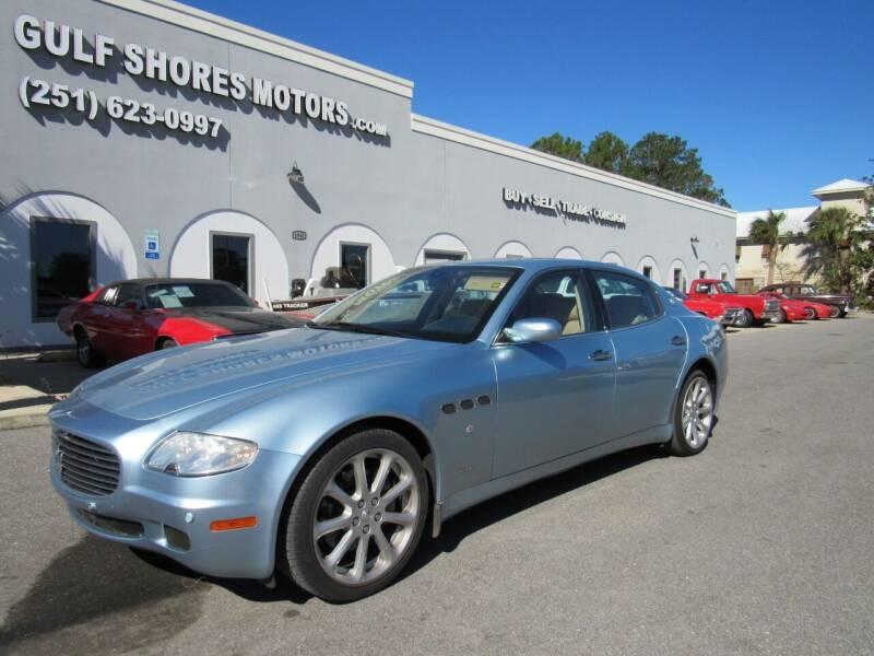 2006 Maserati Quattroporte for sale at Gulf Shores Motors in Gulf Shores AL