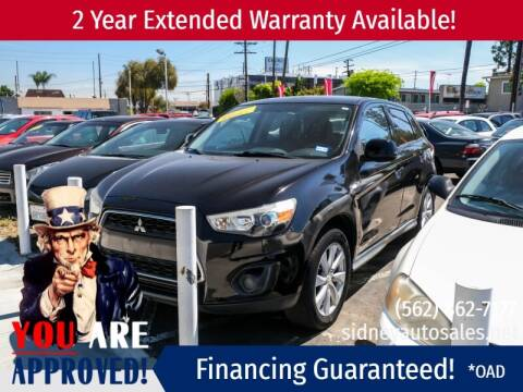 2014 Mitsubishi Outlander Sport for sale at Sidney Auto Sales in Downey CA