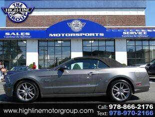 2013 Ford Mustang for sale at Highline Group Motorsports in Lowell MA