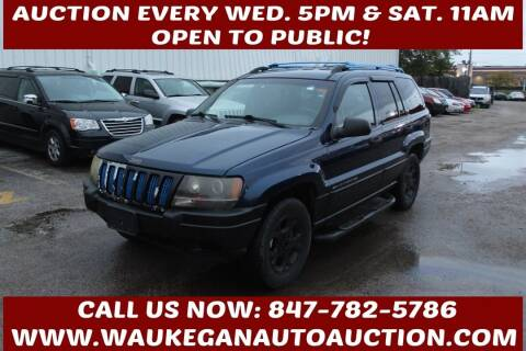 2000 Jeep Grand Cherokee for sale at Waukegan Auto Auction in Waukegan IL