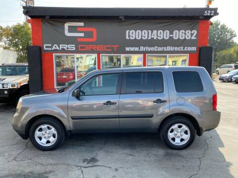 2013 Honda Pilot for sale at Cars Direct in Ontario CA