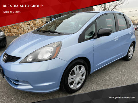 2009 Honda Fit for sale at BUENDIA AUTO GROUP in Hasbrouck Heights NJ