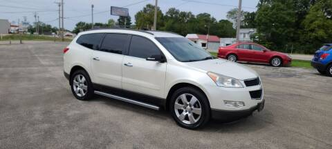 2012 Chevrolet Traverse for sale at Aaron's Auto Sales in Poplar Bluff MO