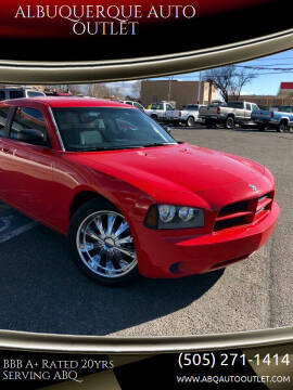 2009 Dodge Charger for sale at ALBUQUERQUE AUTO OUTLET in Albuquerque NM