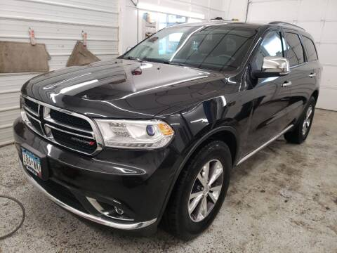 2016 Dodge Durango for sale at Jem Auto Sales in Anoka MN