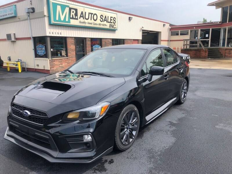 2018 Subaru WRX for sale at MR Auto Sales Inc. in Eastlake OH