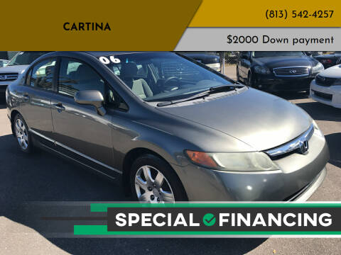 2006 Honda Civic for sale at Cartina in Tampa FL