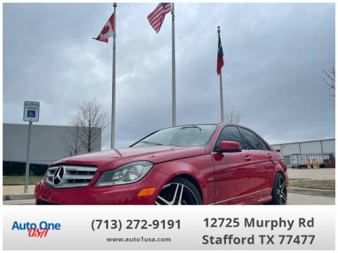 2012 Mercedes-Benz C-Class for sale at Auto One USA in Stafford TX