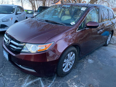2014 Honda Odyssey for sale at Real Deal Auto Sales in Manchester NH