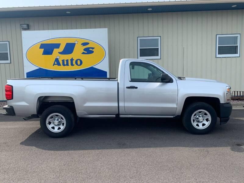 2017 Chevrolet Silverado 1500 for sale at TJ's Auto in Wisconsin Rapids WI