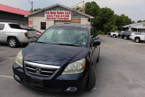 2007 Honda Odyssey for sale at SAI Auto Sales - Used Cars in Johnson City TN