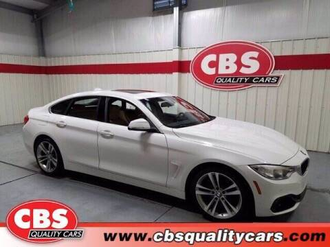 2016 BMW 4 Series for sale at CBS Quality Cars in Durham NC