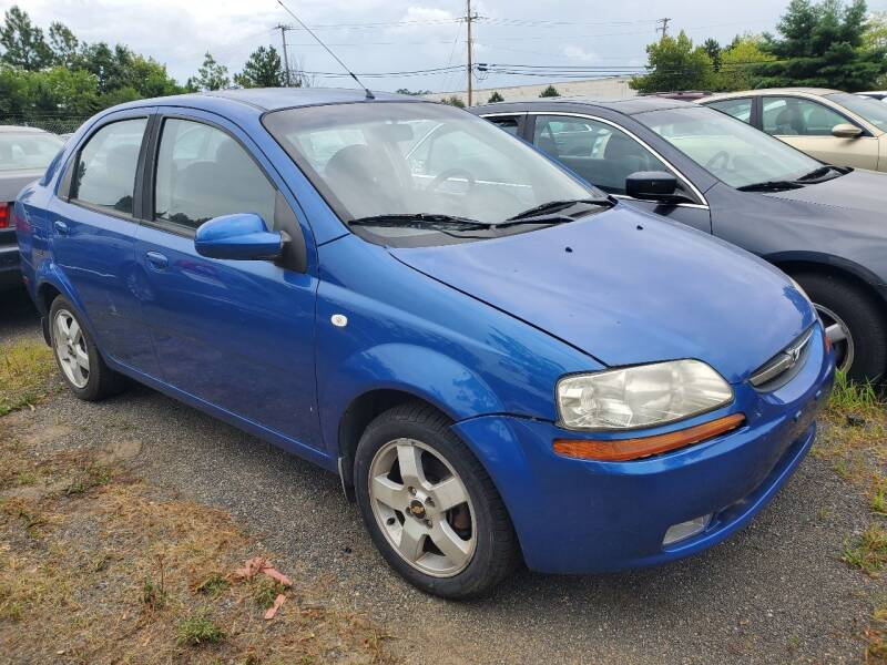 2006 Chevrolet Aveo for sale at M & M Auto Brokers in Chantilly VA