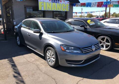 2015 Volkswagen Passat for sale at Valley Auto Center in Phoenix AZ