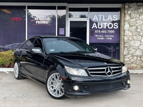 2009 Mercedes-Benz C-Class for sale at ATLAS AUTOS in Marietta GA