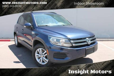 2016 Volkswagen Tiguan for sale at Insight Motors in Tempe AZ